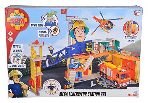 Feuerwehrmann Sam Spielzeug-Mega-Feuerwehrstation XXL 12