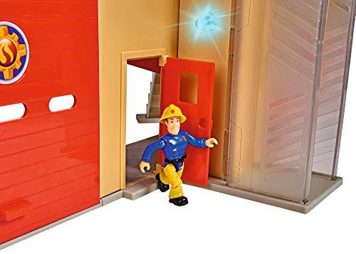 Feuerwehrmann Sam Spielzeug-Mega-Feuerwehrstation XXL 4