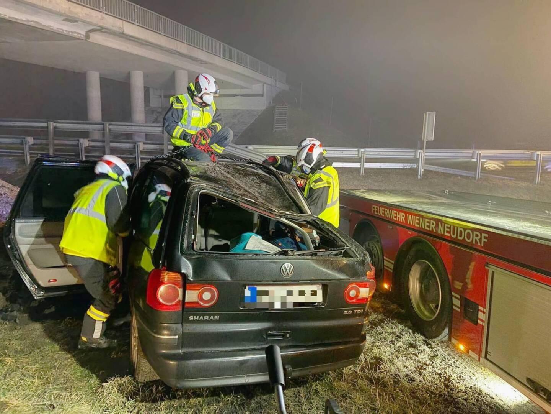 Schwerer Verkehrsunfall in der Silvesternacht