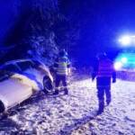 PKW Bergung wegen Schneefall