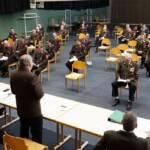 Neues Kommando bei der Mitglieder- und Wahlversammlung der FF Krumbach gewählt