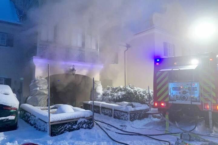 Kellerbrand in Obertressen