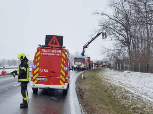 FF Ebenfurth: Sturmschaden in Ebenfurth