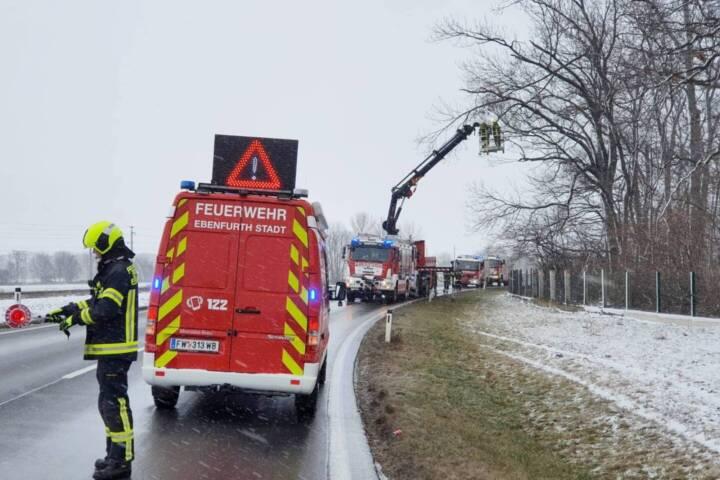 Sturmschaden in Ebenfurth