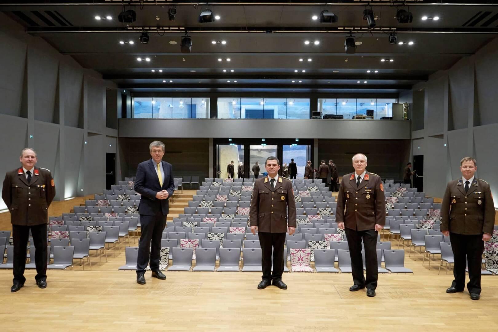 FF Perchtoldsdorf: Wahl des Kommandos