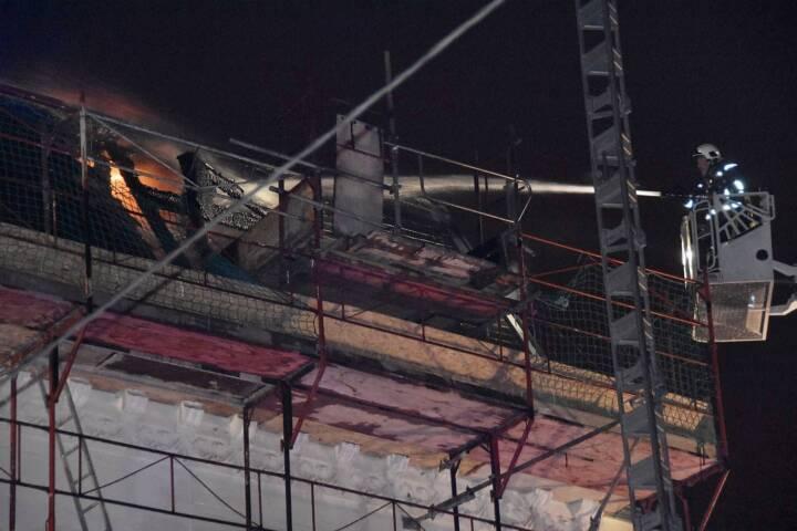 Dachbrand in Wien – Hietzing