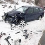 Schwerer Verkehrsunfall auf der Hochneukirchenstraße