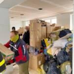 Hilfskonvoi für Erdbebenopfer in Kroatien