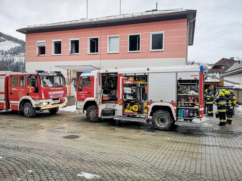 Zimmerbrand in Kalwang