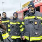 Feuerwehren unterstützen Covid Massentests