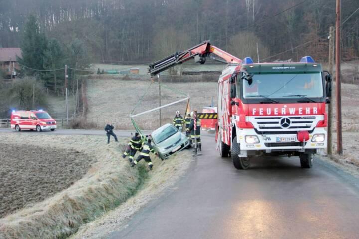 PKW-Bergung in Ober-Henndorf
