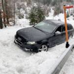 Fahrzeugbergung im Weissenbachtal