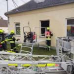 Wohnhausbrand in Breitenwaida