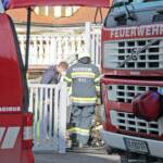 Müllcontainerbrand im Ortsgebiet