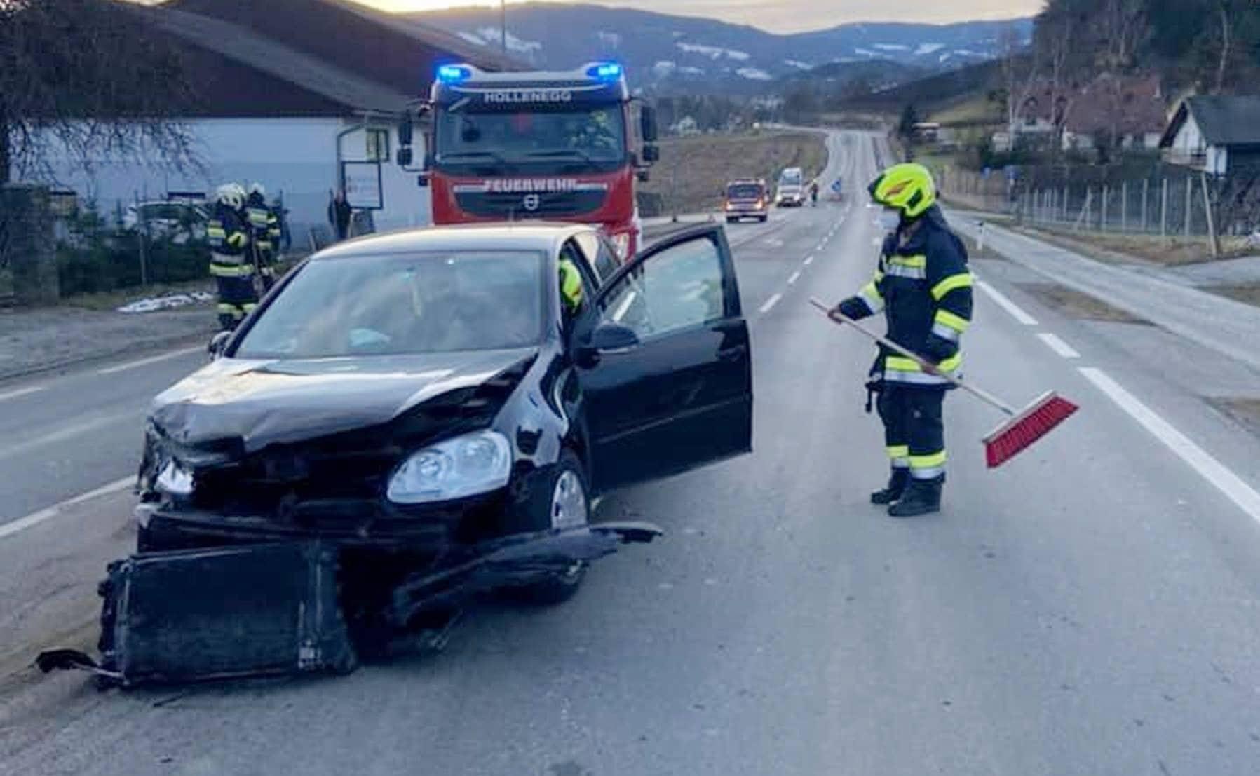 Verkehrsunfall in Rettenbach
