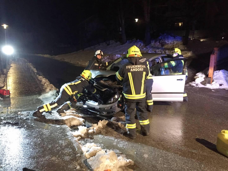 Verkehrsunfall mit fahrerlosem Auto