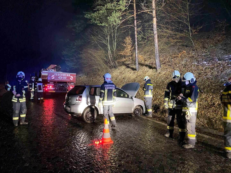 Fahrzeugbergung nach Verkehrsunfall