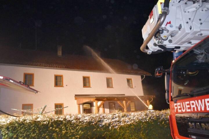 Kaminbrand in Bruck