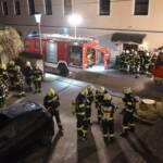 Küchenbrand im Ortszentrum