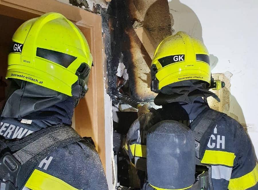Feuerwehr verhindert Wohnhausvollbrand