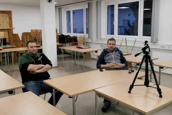 Keine Übungen bei der Feuerwehrjugend ,HFW Bad Ischl weicht ins Internet aus