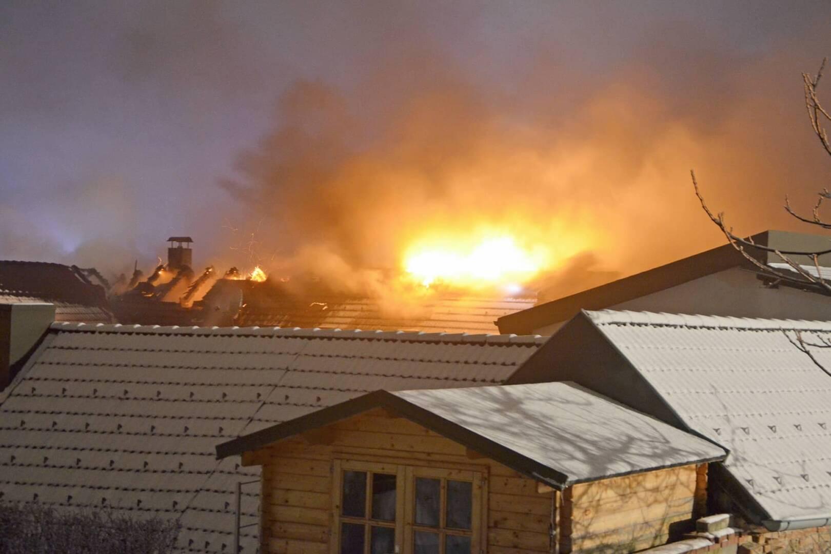 Neuerlicher Dachstuhlbrand im Gasterner Tierheim