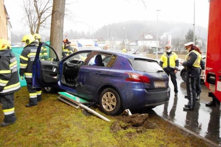 Verkehrsunfall Judendorferstraße