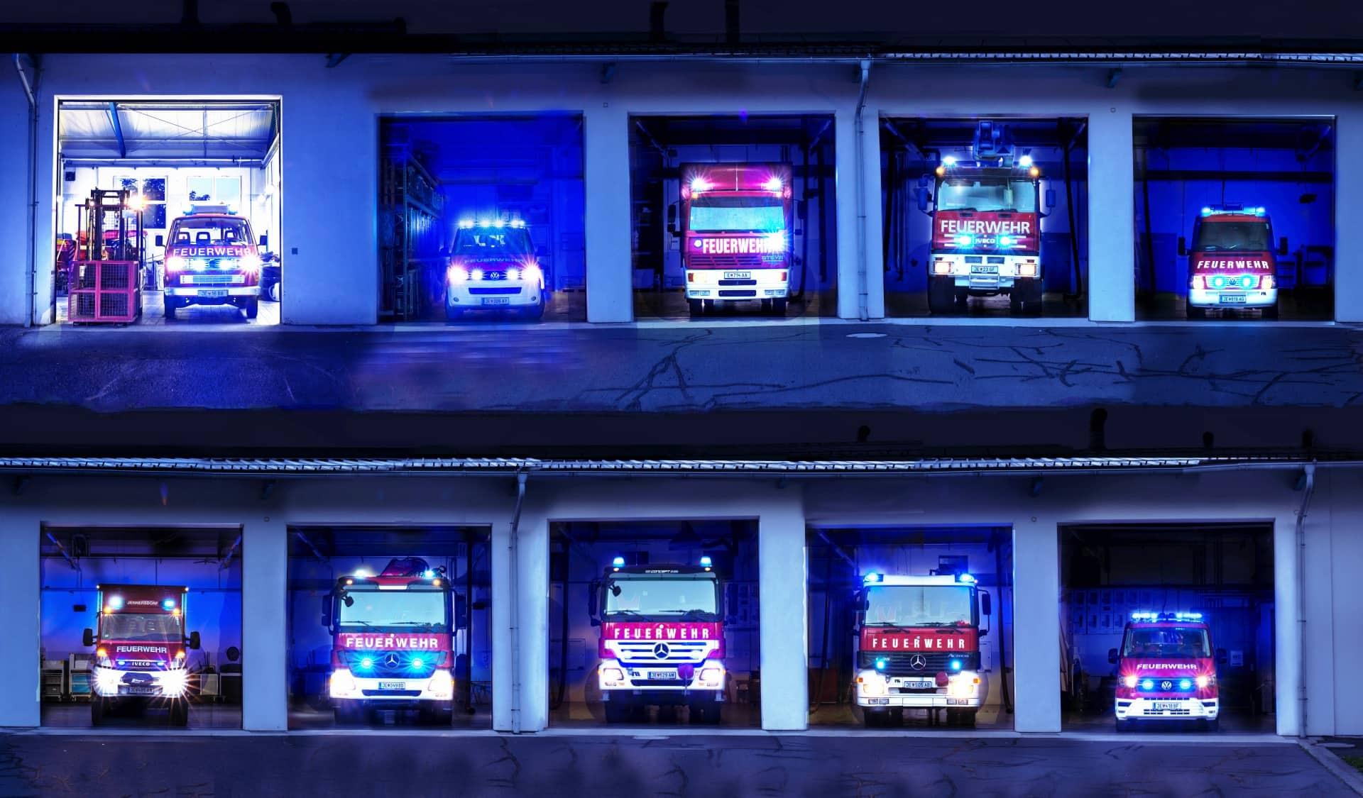Feuerwehr Blaulicht-Challenge