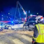 Frontal-Crash fordert zwei Verletzte
