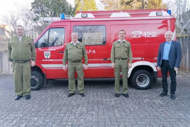 Wahlen der Feuerwehren Krobotek und Rosendorf