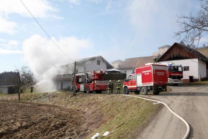 Zimmerbrand in Jennersdorf-Bergen