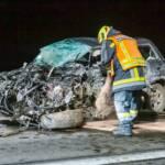 Stundenlanger Einsatz nach tödlichem Verkehrsunfall