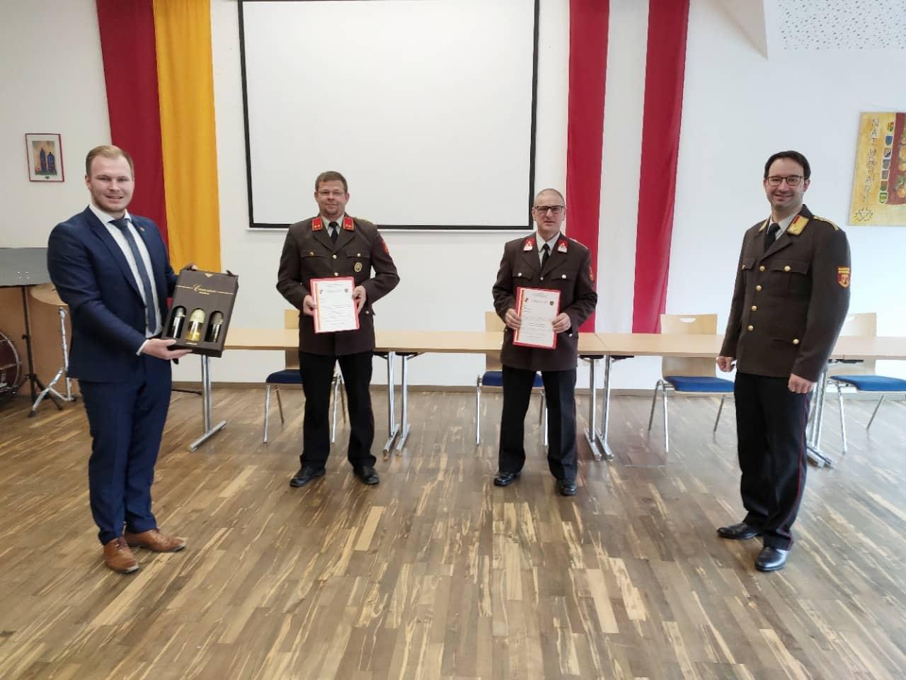 Kommandowahlen in Mühlgraben und Windisch Minihof