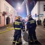 Wohnhausbrand im Ortszentrum
