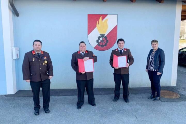 Feuerwehrwahl in Deutsch Kaltenbrunn