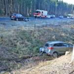 Zwei Unfälle auf der L60 am Bründlberg