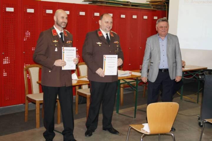 Kommandanten- und Stellvertreterwahl