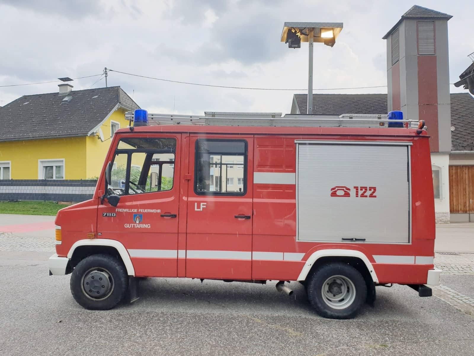 Verkauf von 2 Feuerwehrfahrzeugen