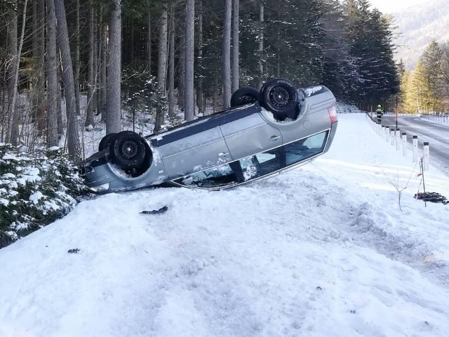 Verkehrsunfall Richtung Erlaufsee
