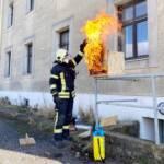 Branddienstübung Magdeburg Kaserne