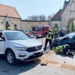 Verkehrsunfall mit zwei Verletzten