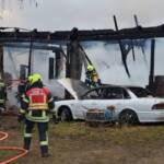 Großbrand in Kainraths fordert 140 Feuerwehrleute