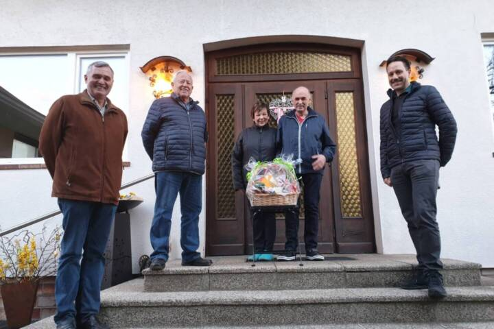 Heinz Schmiedmeier - Glückwünsche zum 70er