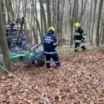 Forstzugbergung auf der Höhenstraße