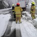 Heftiger Schneeschauer sorgt für Chaos