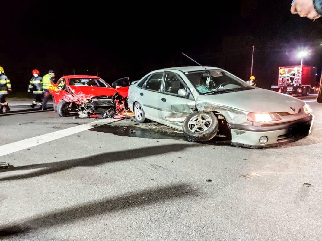 Verkehrsunfall auf der B76 in Frauental