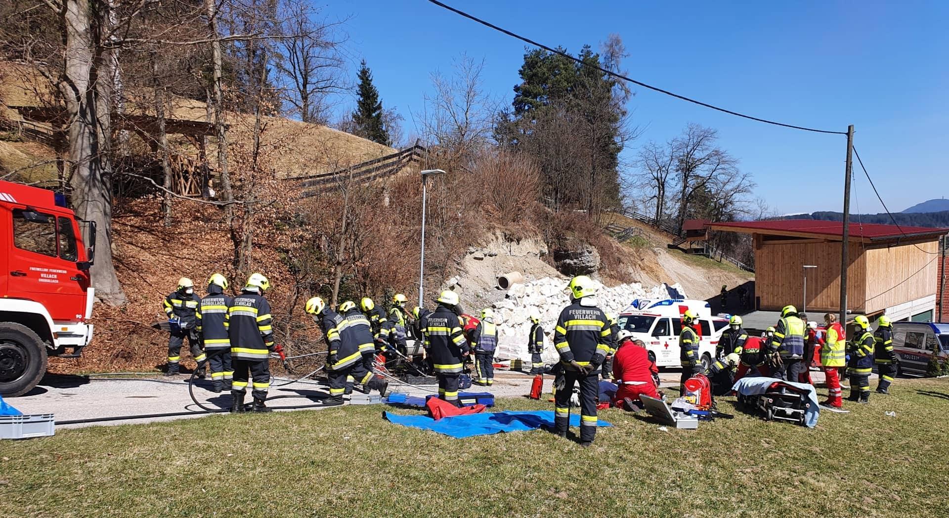 Schwerer Verkehrsunfall im Stadtteil St. Niklas