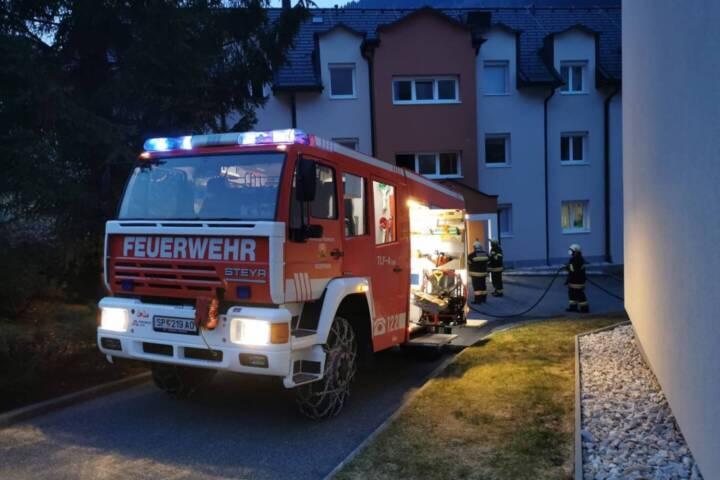 Brand in Wohnung in Radenthein