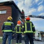 Brand in einem Gewerbebetrieb