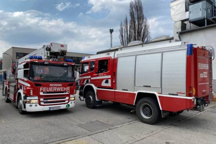 Brandmelderauslösung im Industriegebiet
